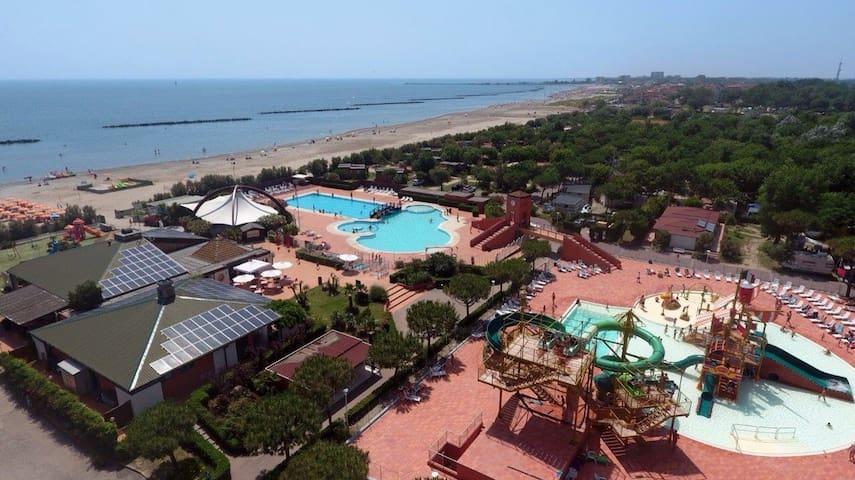LODGE TENT Camping spiaggia e mare - Porto Garibaldi - Tält