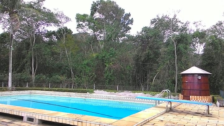 Piraí Sítio 4 quartos com piscina/sinuca /ping pon