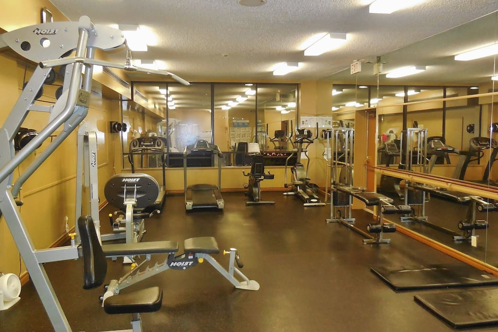 Access to Full Universal Gym in the Building
