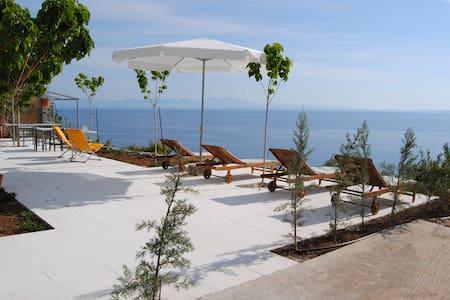 Olive Grove Villa w Private Beach - Leonidio - Villa