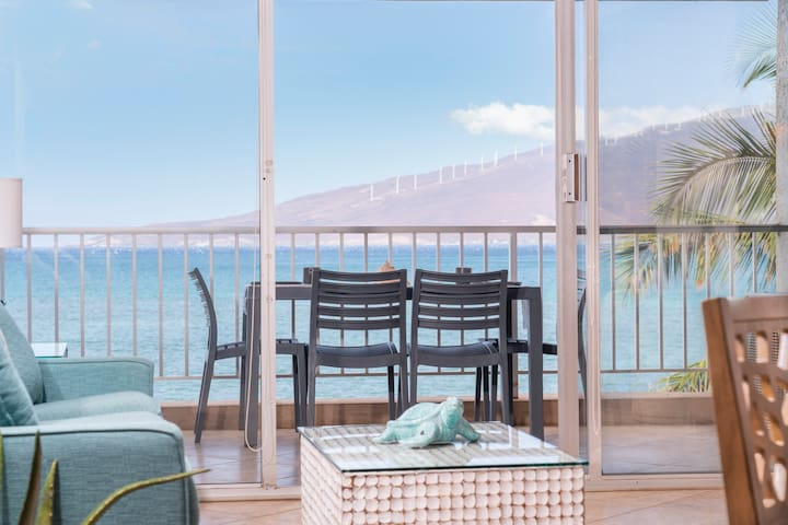 New! Prime Oceanfront w/ Spectacular Views!