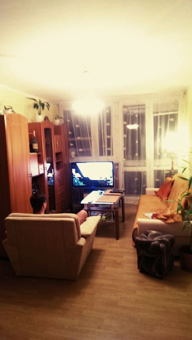our space for playing, talking and chillin :)