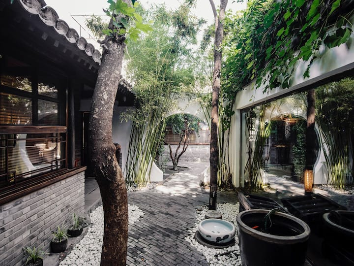 Cozy en-suite room in renovated Beijing courtyard