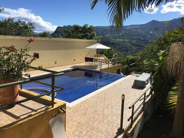 Casa Quinta Colonial Chinavita,Boyaca