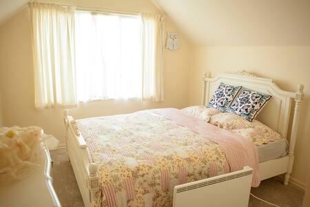 Cosy sunny double bedroom - Auckland - Villa