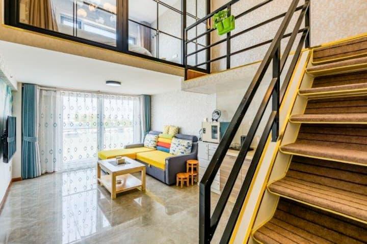 蓬莱阁海景复式公寓