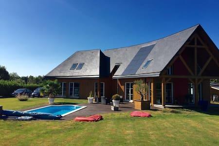 Gîte piscine Deauville Honfleur - Le Theil-en-Auge