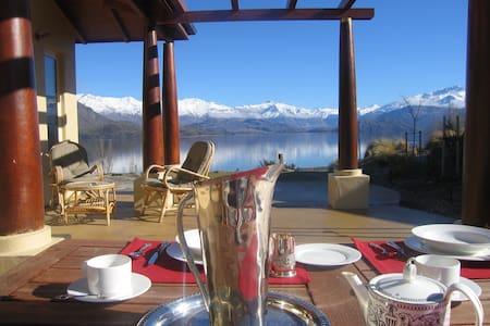 Lakeside Luxury Guest Suite, with private entry - Wanaka