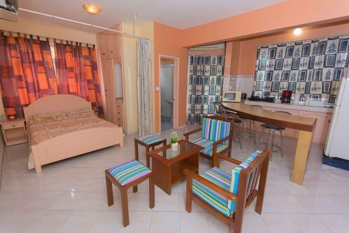 Laksha Villa Studios & Apartments.