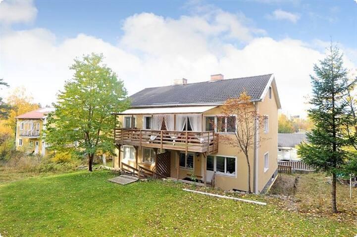 Lägenhet i en villa