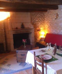 L'Authentique en Périgord cheminée - Naussannes - Apartment - 2