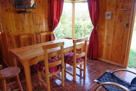 Lindas Cabañas  Lican Ray ,completamente equipadas - Villarrica - Blockhütte