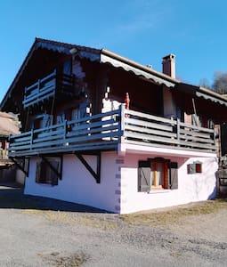 "Chalet ""perce neige""15 pers + sauna"