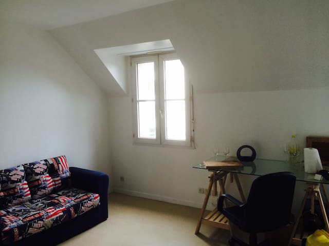studio centre ville lit double appartements louer angers pays de la loire france. Black Bedroom Furniture Sets. Home Design Ideas