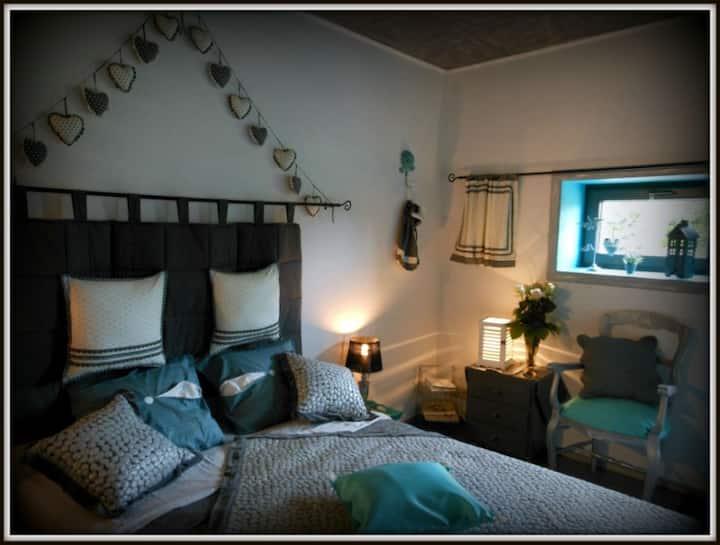 chambre Poésie , romantisme à la ferme