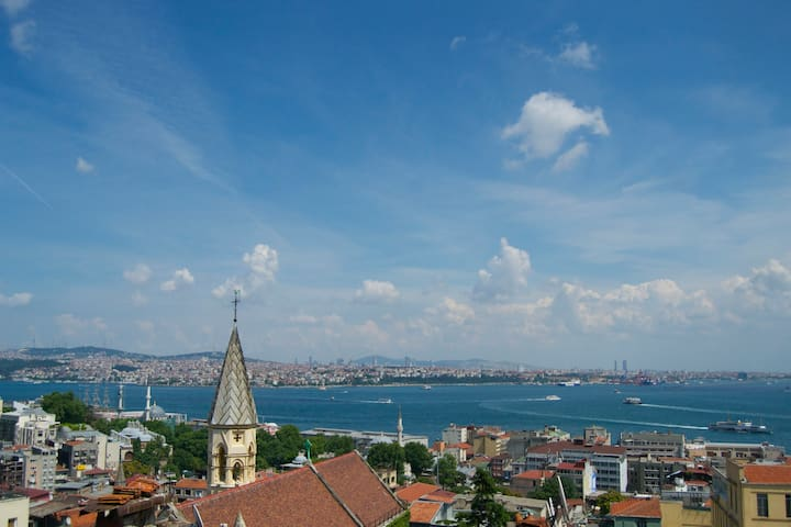 Galata Apartment wt Private Terrace