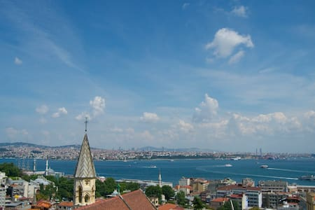 Galata Apartment wt Private Terrace - İstanbul  - Διαμέρισμα