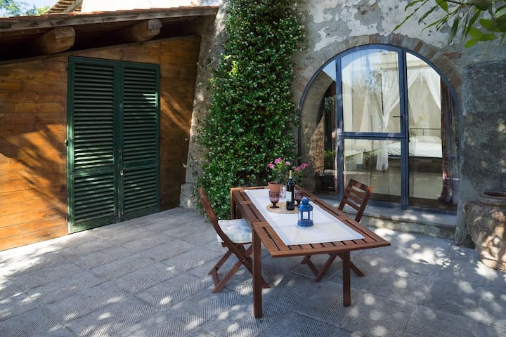 Nice tuscan house with private pool - Montespertoli - Byt