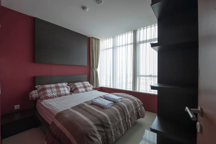 2 BR /Thamrin Residences/Jakarta - Tanah Abang - Appartement
