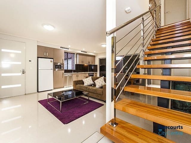 Modern Warehouse Style - luxury room North Perth