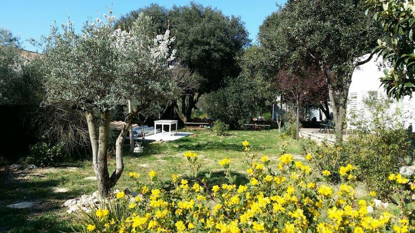 Bel appart  indépendant dans Villas - Argelliers - Hus