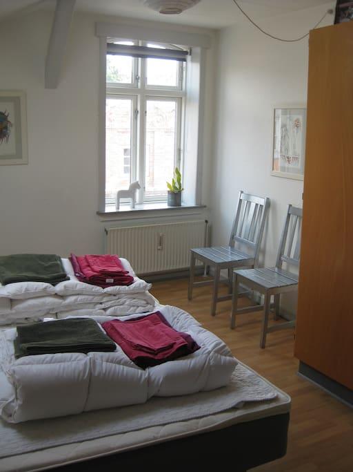 seperat soveværelse