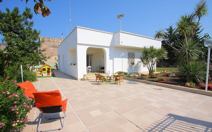 House in Bari, Garden, Wifi & Park
