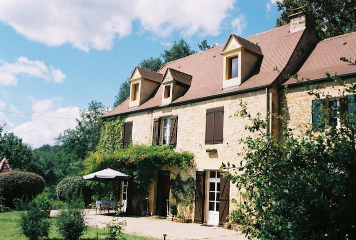 """Chambre d'hôtes """"Inde"""" - Sarlat - Carsac-Aillac - ที่พักพร้อมอาหารเช้า"""