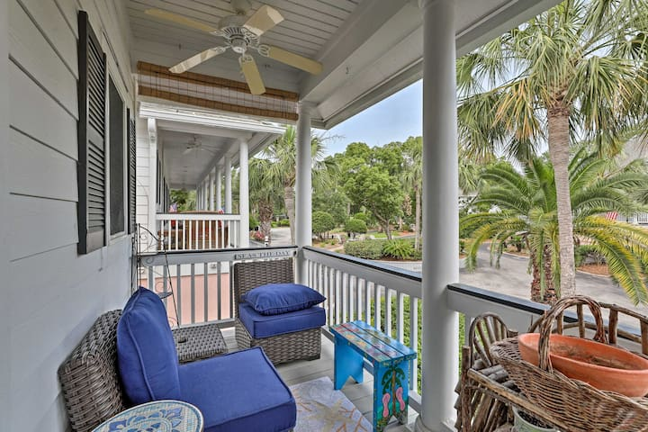 NEW! Isle of Palms Villa w/ Pool & Beach Access!