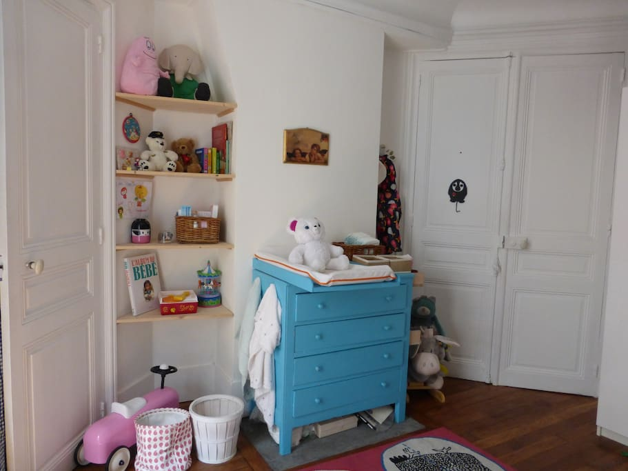 The baby bedroom with everything you need to take care of your baby !