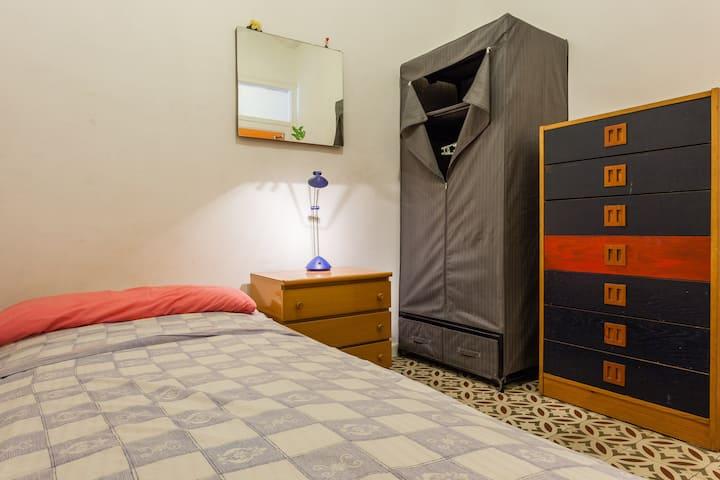 `0´ Single Interior Private Room Bonita `0´