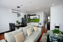 Reasonable layout design, move easily in the apartment