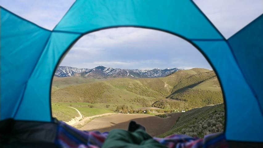 View from Mountain Overlook Campsite