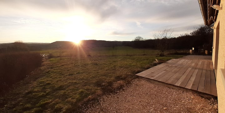 Les Chevreuils, 150m² de calme pleine campagne