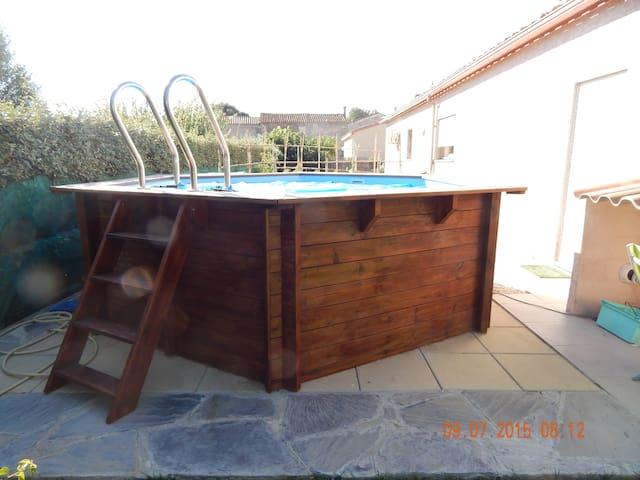 piscine hors sol de 4m