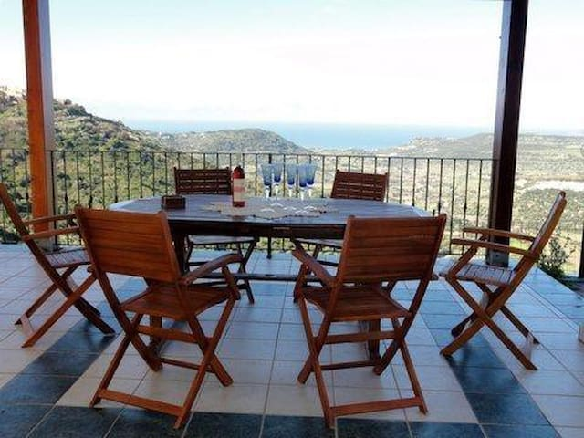 Spectacular villa with  panoramic sea views - Magomadas - Villa