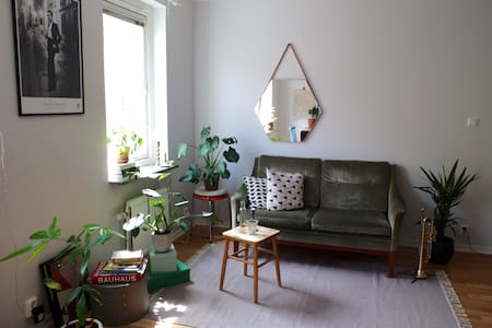Cosy apartment in lovely area - ヨーテボリ - アパート