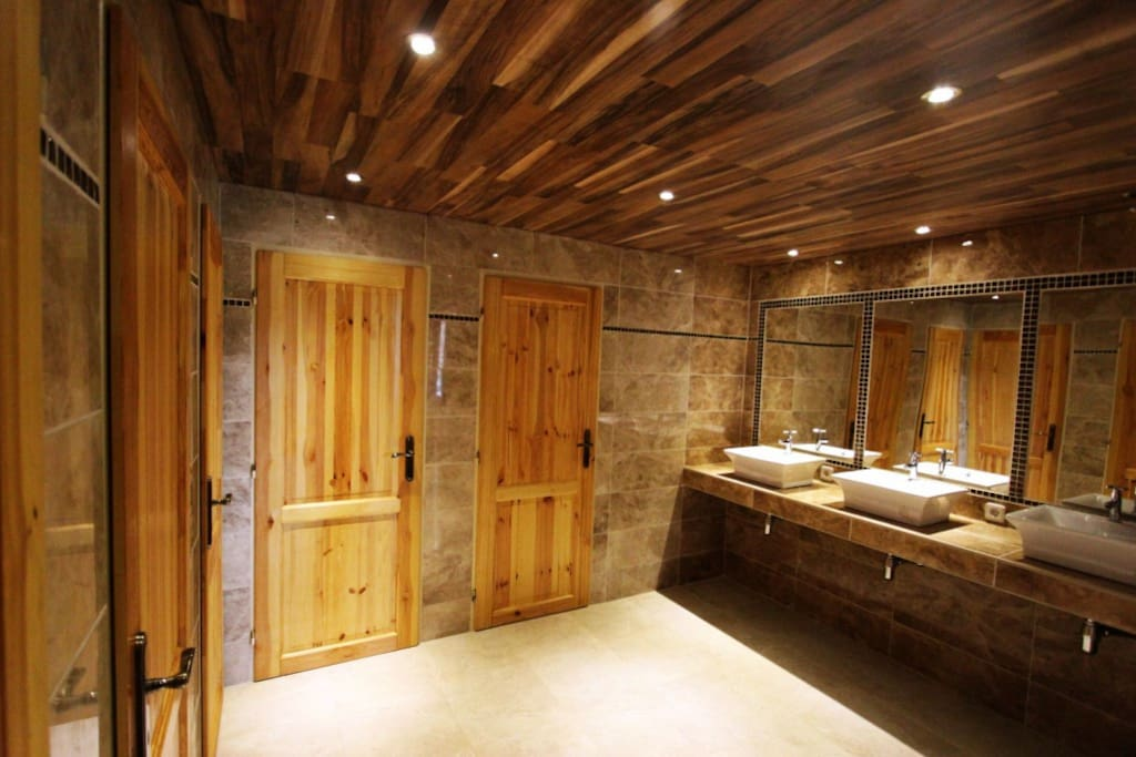 Our lovely modern bathroom