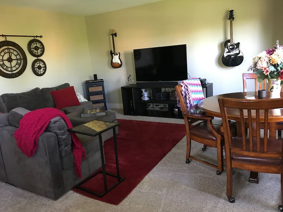 Living room sectional - sleeps 2 comfortably