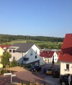 Doppelhaushälfte mit eigenem Garten - Groß-Bieberau - Rumah