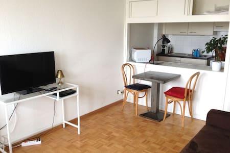 Small Studio in the center with balcony - Geneve - Huoneisto