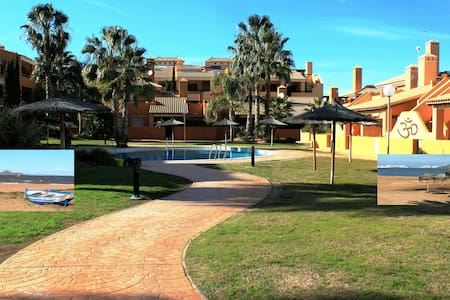 Excellent well furnished apartment - Mar de Cristal - Daire