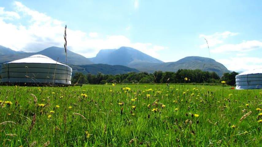 Great Glen Yurts (Ben Nevis) - Torlundy - Iurta
