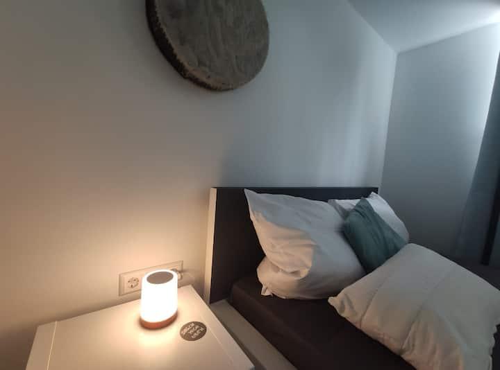 Modernes, ruhig gelegenes Apartment mit guten ÖPNV