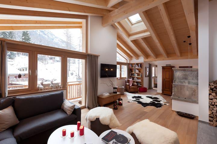 Chalet Binna und Banja Zermatt
