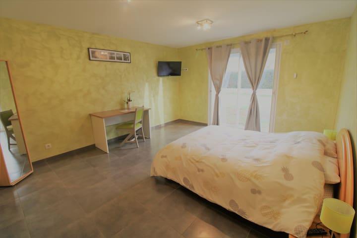 Chambre privée dans maison neuve à Saulxures ...