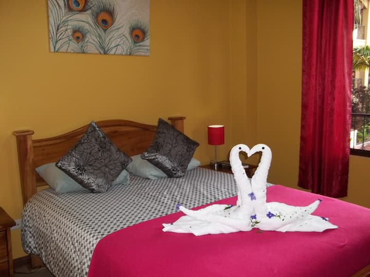 Apart 2 private bedrooms 1 full bathroom. A/C.WIFI