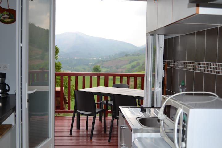 Pays Basque , gîte entre Bidarray et Itxassou - Bidarray - Appartement