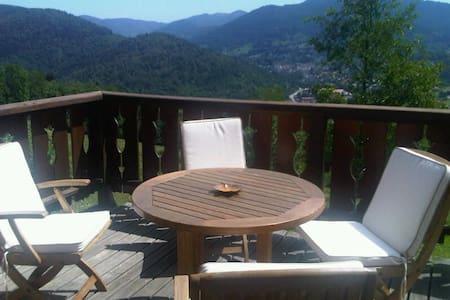 Luxury Mountain Chalet: Le Hangy ! - Fresse-sur-Moselle - Casa