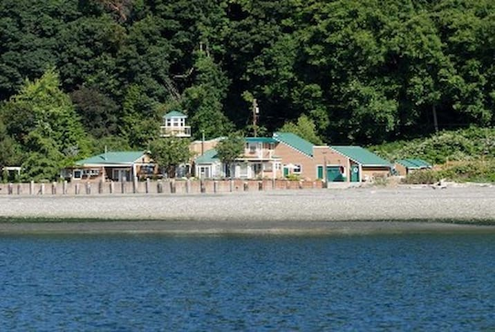 Spectacular Island Beachfront - Vashon - Huis